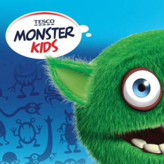Projekt linii opakowań Tesco Monster Kids